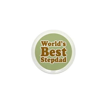 World's Best Stepdad Mini Button (10 pack)
