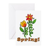 Spring Flowers Greeting Cards (Pk of 10)
