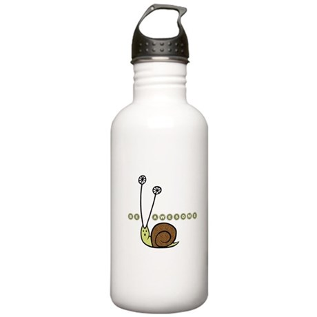 Be Awesome Snail Stainless Water Bottle 1.0L
