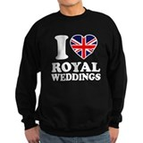 I Love Royal Weddings Sweatshirt