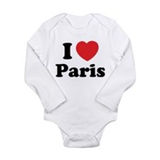 I love Paris Onesie Romper Suit