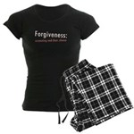 Forgiveness Women's Dark Pajamas