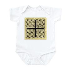 Celtic Square Cross (w/bg) Infant Creeper