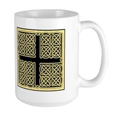 Celtic Square Cross Mug