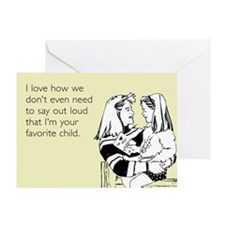 Favorite Child Greeting Card