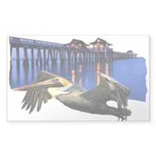 Pelican Pier Decal