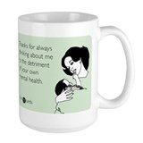 Detriment To Your Health Ceramic Mugs