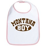 Montana Boy Bib