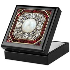 Ruby Ring Keepsake Box