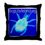 bugs.byteland.org Throw Pillow