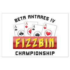 Fizzbin Championship Large Poster