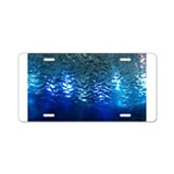 Underwater World Aluminum License Plate