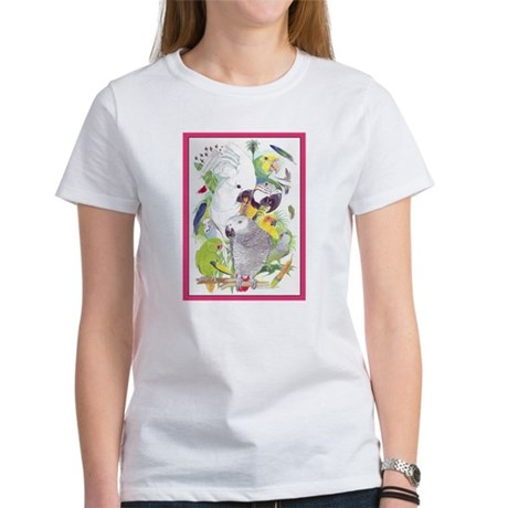 Parrot Fun Women's T-Shirt