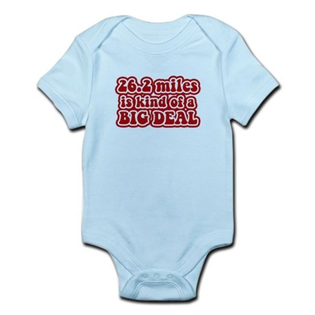 26.2 Big Deal Infant Bodysuit