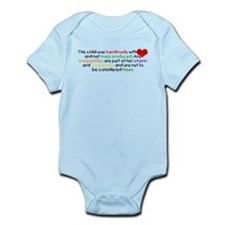 Handmade With Love girl Infant Bodysuit