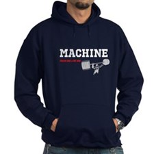 "MACHINE ""TRAIN BIG LIVE BIG"" Hoodie"