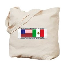 USA & MEXICO UNITE Tote Bag
