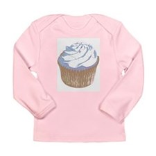 Cupcake Long Sleeve Infant T-Shirt