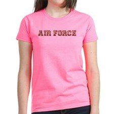 Air Force Zebra Red Tee