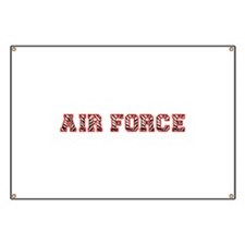 Air Force Zebra Red Banner