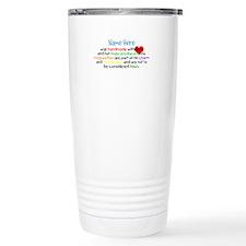 Handmade With Love Boys Customised Thermos Mug
