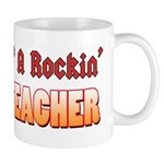 Property Of A Rockin Guitar Teacher Mug