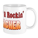Property Of A Rockin Bass Teacher Mug