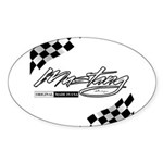 MustangFlags Sticker (Oval)