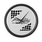 MustangFlags Large Wall Clock