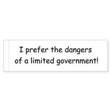 Limited Government Bumper Sticker