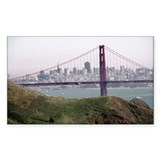 S.F. Skyline Rectangle Decal