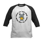 Cute Koala Kids Baseball Jersey