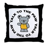 Cute Koala Throw Pillow