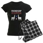 Friendship Women's Dark Pajamas