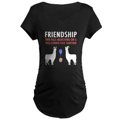 Friendship Maternity Dark T-Shirt
