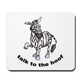 Cute Zebra Mousepad