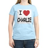 I heart charlie T-Shirt