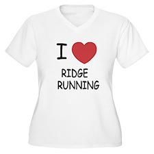 I heart ridge running T-Shirt