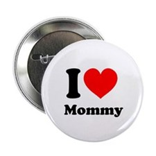 """I Heart Mommy 2.25"""" Button (10 pack)"""