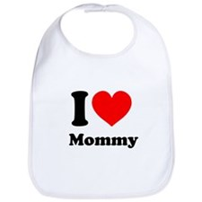 I Heart Mommy Bib