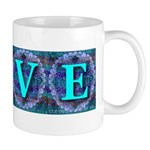 LOVE Silk Tapestry Skyblue Mug