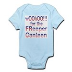 wOOhOO ... FReeper Canteen Infant Creeper