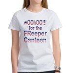 wOOhOO ... FReeper Canteen Women's T-Shirt