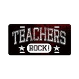 Cute Elementary school teacher Aluminum License Plate