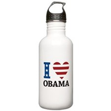 I Love Obama Water Bottle