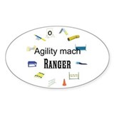 Dog Agility Title Decal