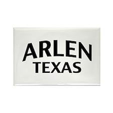 Arlen Texas Rectangle Magnet