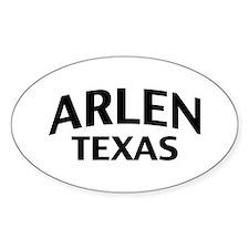 Arlen Texas Decal