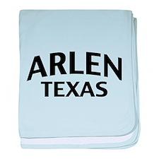 Arlen Texas baby blanket