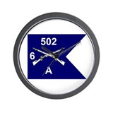 A Co. 6/502 Wall Clock